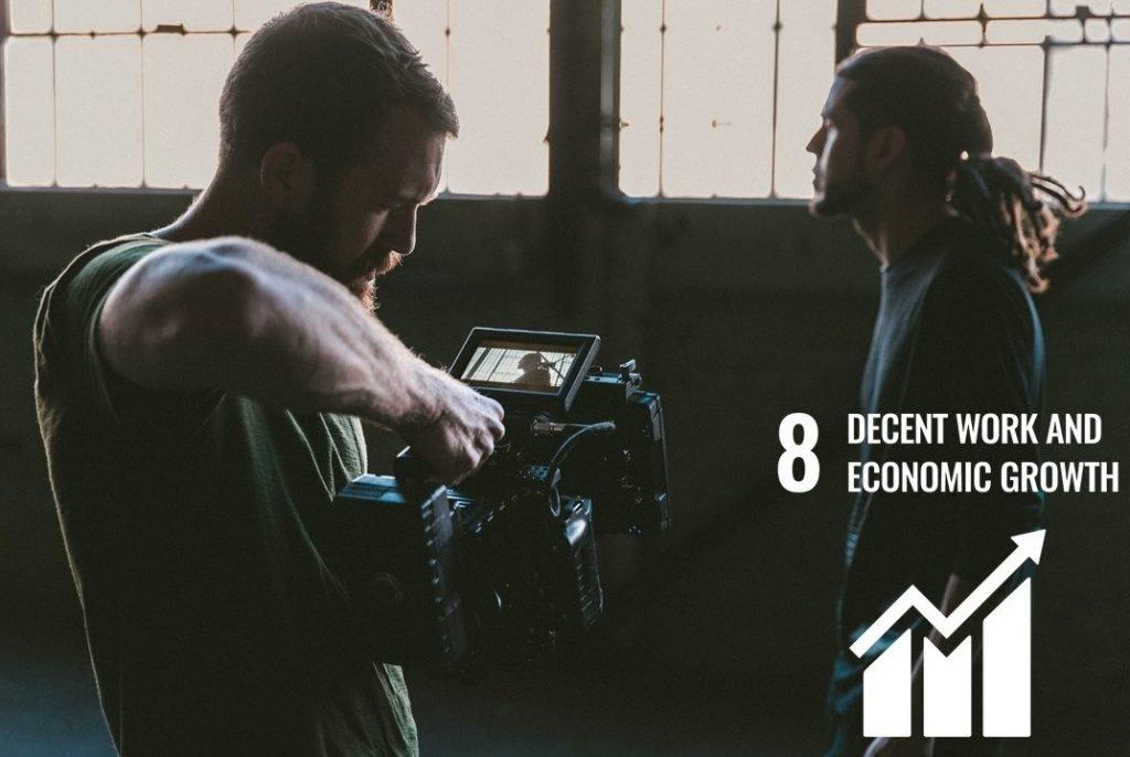 Innovation for purpose SDG 8: Decent work